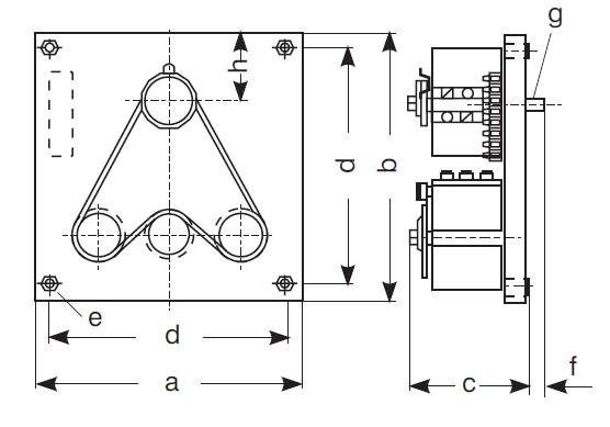 trojfázové regulační autotransformátory podle VDE 0552 - a