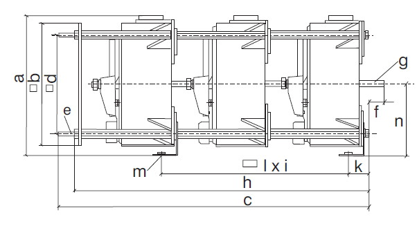 Trojfázové regulační autotransformátory podle VDE 0552 - d