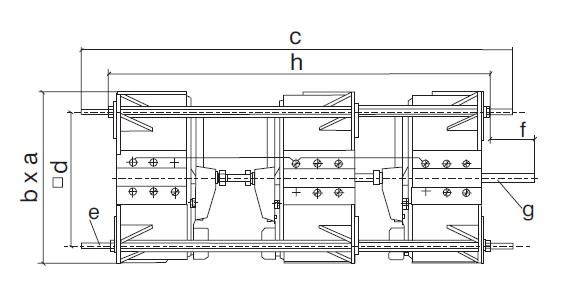Trojfázové regulační autotransformátory podle VDE 0552 - c